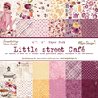 Pappersblock - Maja Design - Little street cafe - 15x15cm