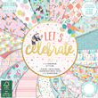 Paper pad - First Edition - Lets Celebrate - 15x15cm - 48st