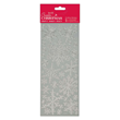 Outline Stickers - Snowflakes - Silver