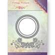 Jeanines Art Dies - Vintage Flowers - Flowers and Circles