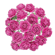 Pappersrosor 1,5cm - 20st - Berry
