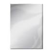 A4 Metallic Mirror Card - Frosted Silver - Satin - 5st